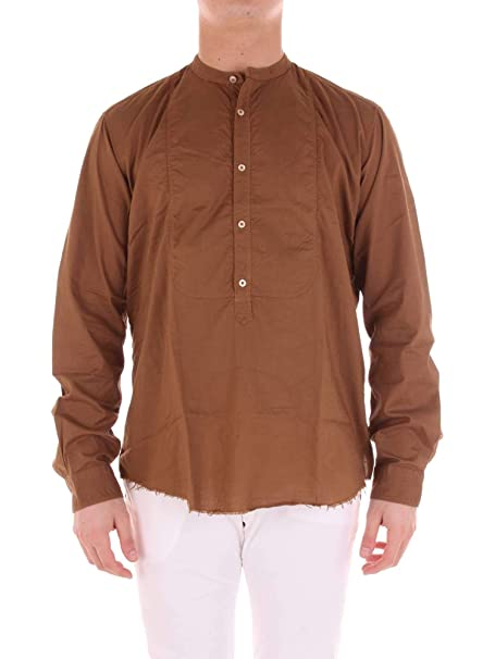 official photos 5ba3d 98a73 TINTORIA MATTEI 954 Men's T5ynz6brown Brown Cotton Shirt ...
