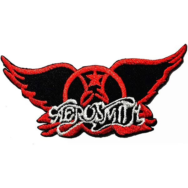 Aerosmith Music Hard Rock and Roll Embroidered Badge Iron On Sew On Jeans A-36