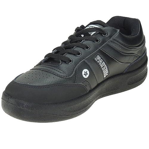 Paredes Estrella Deportivo Sneaker Piel Ancho y Piso Grueso para Hombre: Amazon.es: Zapatos y complementos