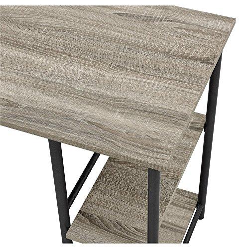 Ameriwood Home 9254196COM Garrett Desk Combo Altra Metal Stu