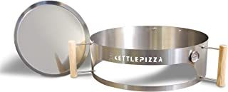 product image for KettlePizza Basic 22.5 - Pizza Oven Kit for 22.5 Inch Kettle Grills. Made in USA