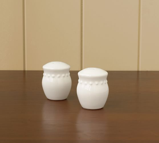 Emma Salt & Pepper Shakers | Pottery Barn