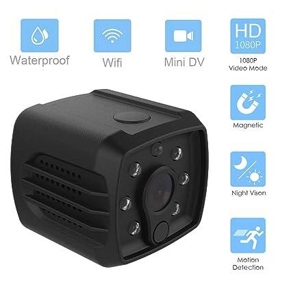 HUIGE Mini Cámara Oculta, Cámara De Seguridad Portátil De HD 1080P Niñera CAM, Tarjetas De Apoyo 128GB TF, DV Deporte: Amazon.es: Hogar