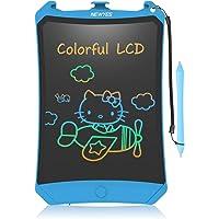 NEWYES Tableta de Escritura LCD 8,5 Pulgadas | Tablet para Dibujar para Niños. Colores Más Brillantes. Pizarra…