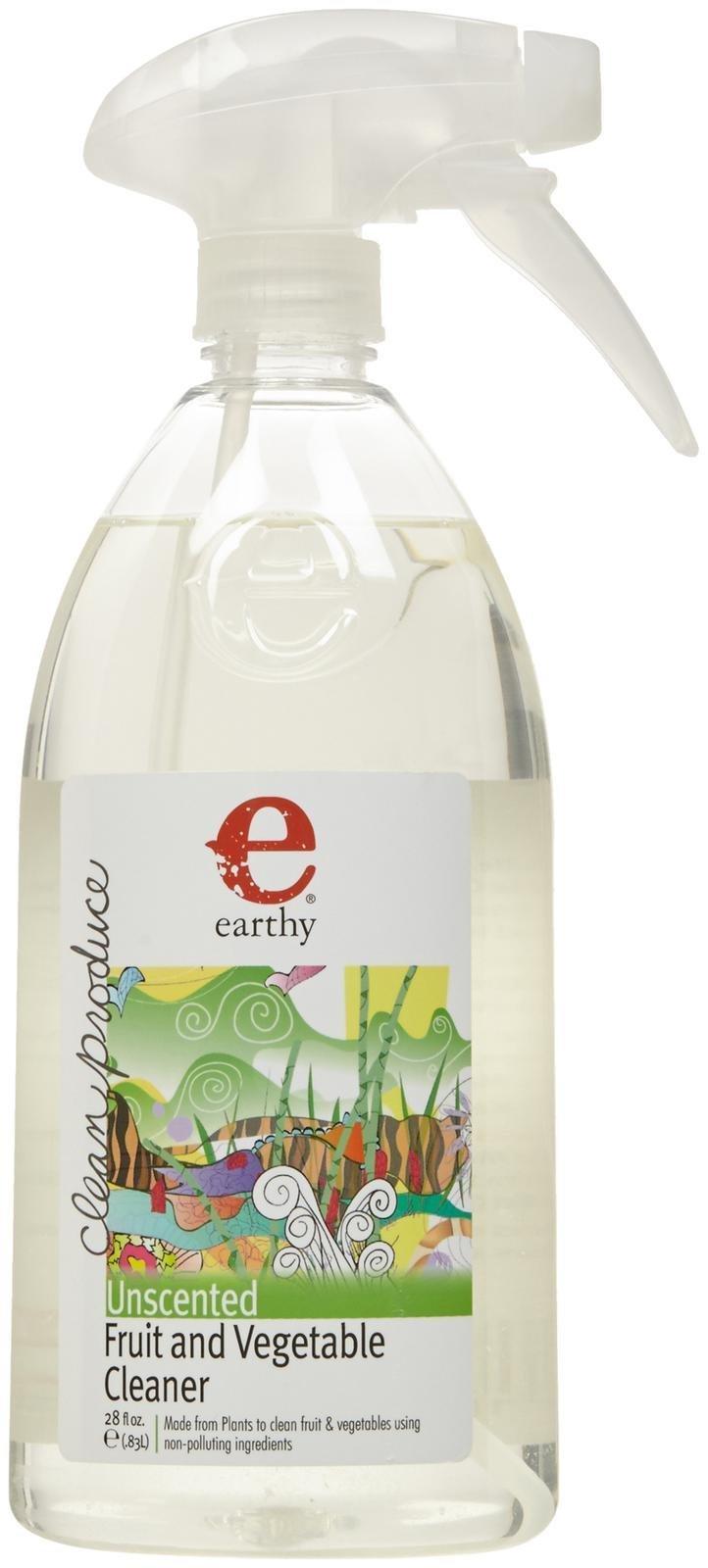 Earthy Clean Produce Fruit & Vegetable Cleaner, 28 Fluid Ounce