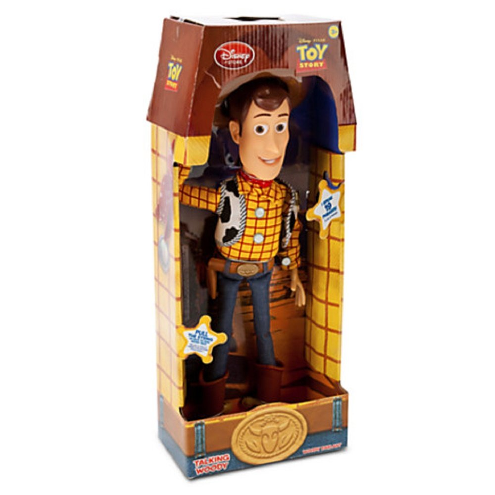 Toy Story Figures : Disney toy story talking woody large action figure plush
