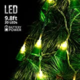 Christmas LED String Lights, 8 Modes Christmas Tree Décor for Xmas Wedding Party