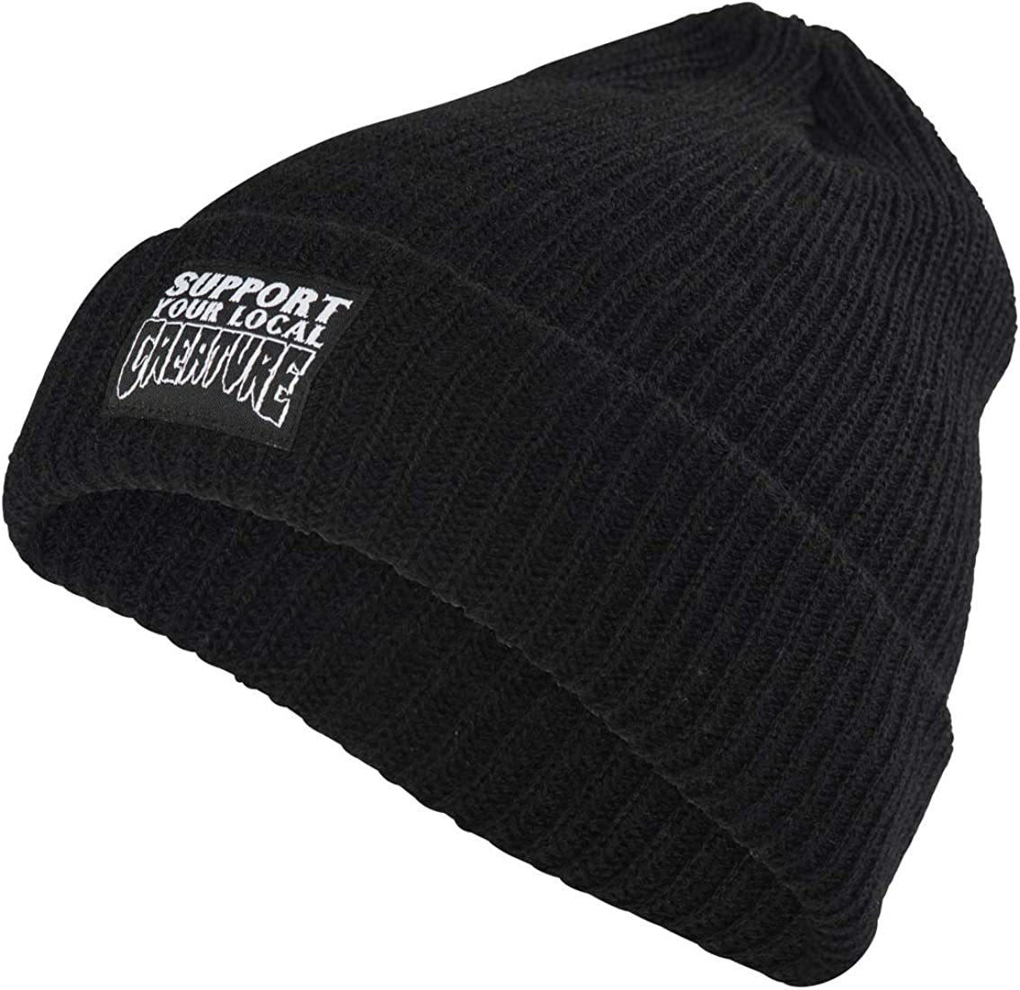 Creature Mens Support Long Shoreman Beanie Hat