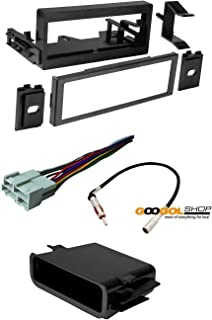 61fknNvUUYL._AC_UL320_SR224320_ amazon com car stereo dash install mounting kit wire harness alpine cde 143bt wiring harness at fashall.co