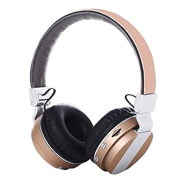 Auriculares de diadema inalámbricos Bluetooth 4.2, Hifi, estéreo, graves profundos, auriculares con