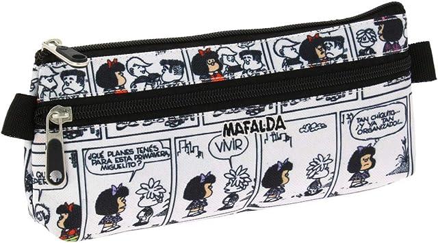 Grafoplás 37540771. Estuche Escolar Mafalda Comic: Amazon.es: Equipaje
