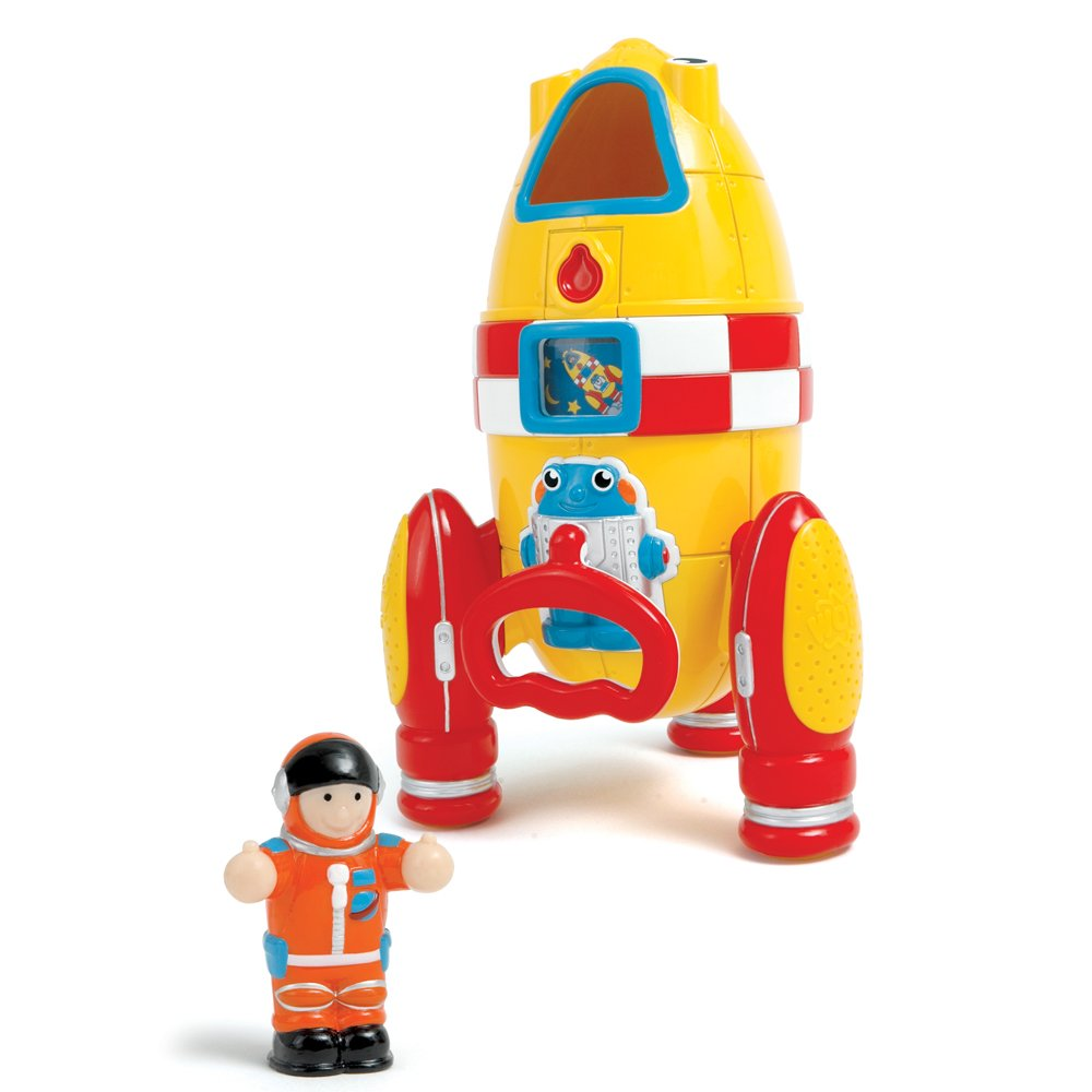 Wow Ronnie The Rocket (2 Piece Play Set) by WOW Toys (Image #2)