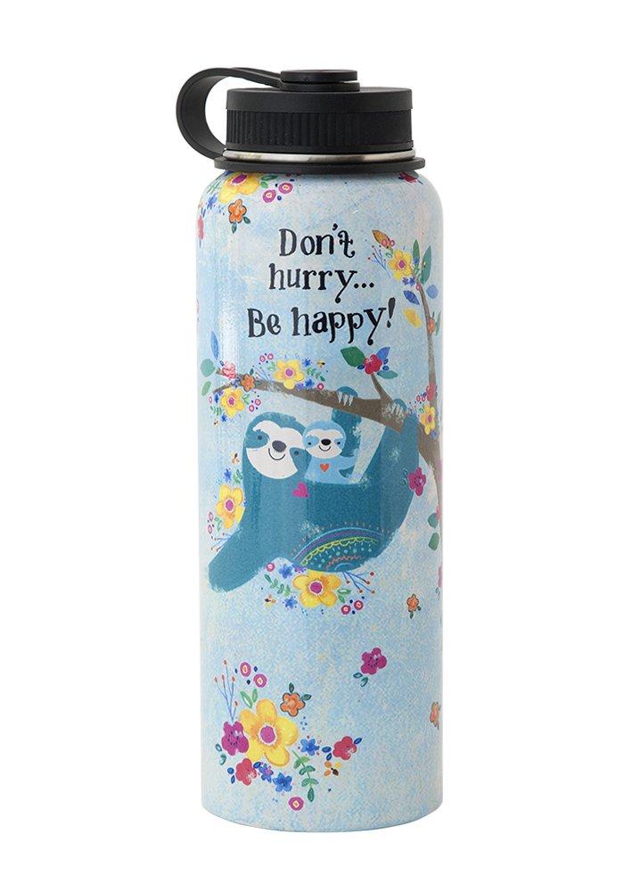 Sloth急がないLarge水ボトル B079NSS9PW