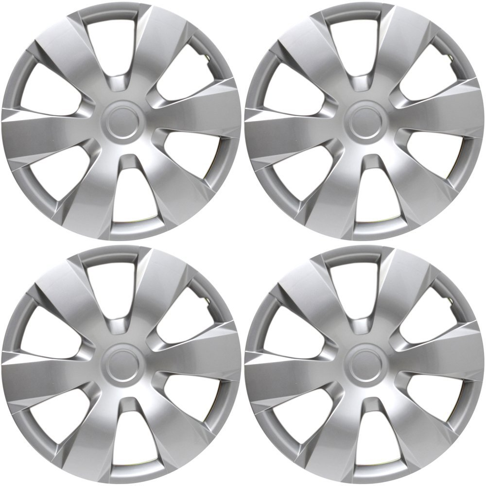 amazon 16 inch hubcaps best for 2007 2011 toyota camry set 2016 Toyota Camry 16 inch hubcaps best for 2007 2011 toyota camry set of 4 wheel covers 16in hub caps silver rim cover car accessories for 16 inch wheels snap on