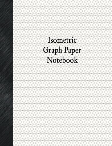 Isometric Graph Paper Notebook 1 5 Isometric Rule 80 Pages Basic