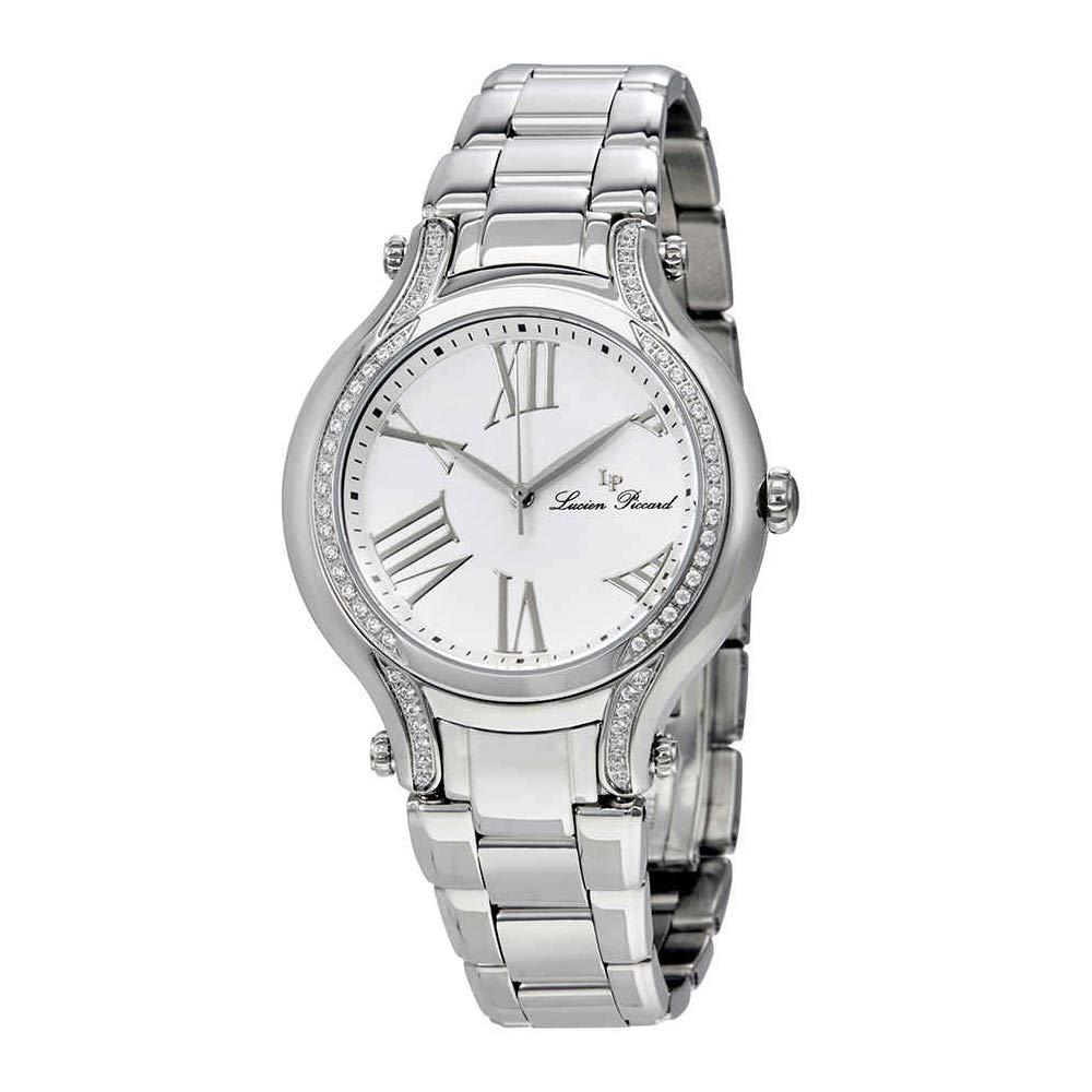 Lucien Piccard Women s Elisia Quartz Stainless Steel Watch, Color Silver-Toned Model LP-16353-22-SA
