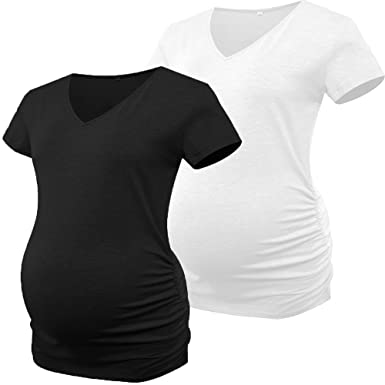 Derssity Womens Maternity Shirt Tops Pregnancy T-Shirt Clothing