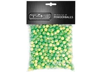 Umarex - Bolas de goma (500 unidades), color verde y amarillo: Amazon.es: Deportes y aire libre