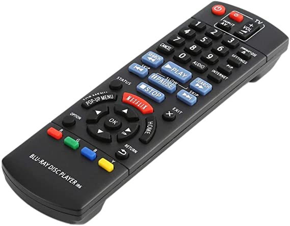 Repuesto de Smart TV Control Remoto para Panasonic N2QAYB000867 DMP-BD89 DMP-BD79 Disco BLU-Ray Reproductor de DVD Partes de Control: Amazon.es: Electrónica