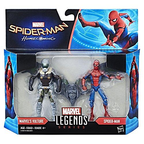 Marvel Legends Spider-Man: Homecoming Spider-Man & Vulture Figures 2-Pack, 3.75-inch
