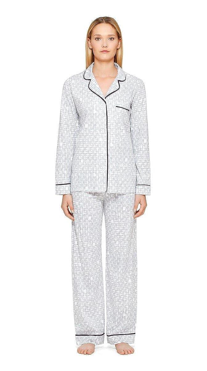 DKNY - Pijama - para mujer gris Grey & White L: Amazon.es: Ropa y accesorios