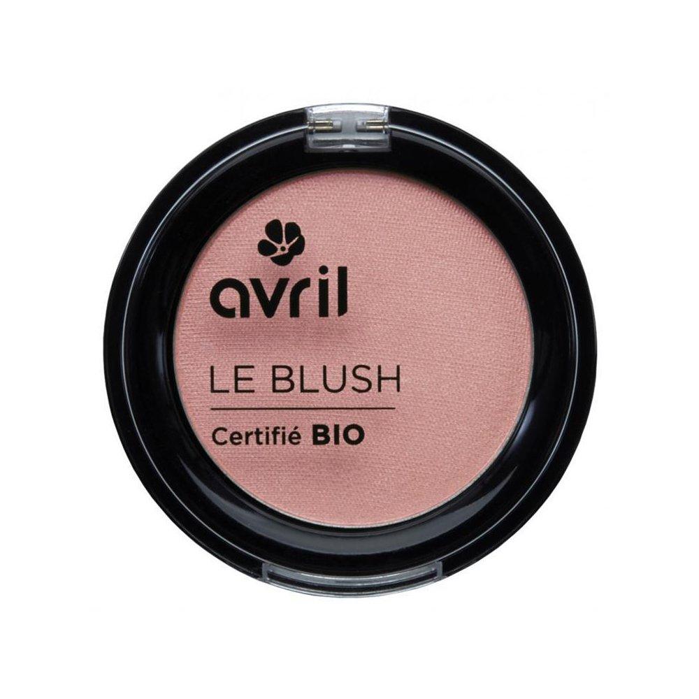 Avril Blusher Certified Organic Pearl Pink 2.5g.