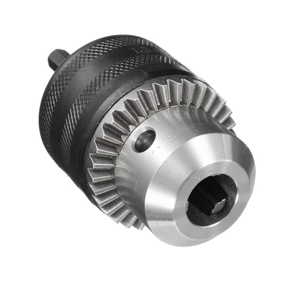 HZJT-10 Lot de 5 outils de conversion de mandrin /à cl/és pr/écises avec adaptateur de douille de 1,27 cm SDS-Plus et embout hexagonal cl/é de mandrin de 13 mm