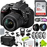 Nikon D5300 DSLR Camera (Body Only, Black) with Nikon 18-55mm f/3.5-5.6G Lens Outdoors Kit