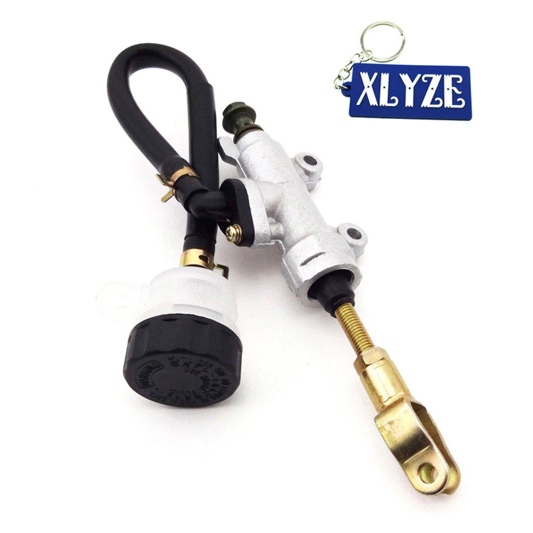 xlyze chinois ATV quadruple pied cylindre de frein à pied Pompe hydraulique principal avec réservoir pour 50cc 250cc ATV taotao coolster basse