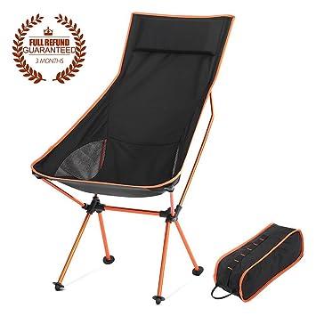 portable lightweight folding chair leisure stool lengthen backrest