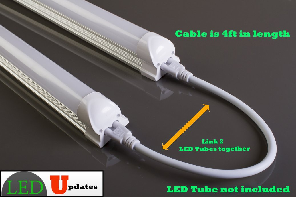 4ft Integrated LED tube Link Wire cable Interconnect for link 2 ...