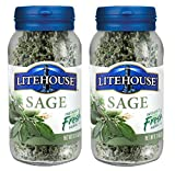 Litehouse Freeze-Dried Sage (Pack of 2) .31 oz Jars