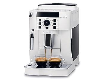 De Longhi ECAM 21110 Magnifica S máquina Café Espresso automática Depósito 1,8 litros Potencia 1450 W Color blanco: Amazon.es: Hogar