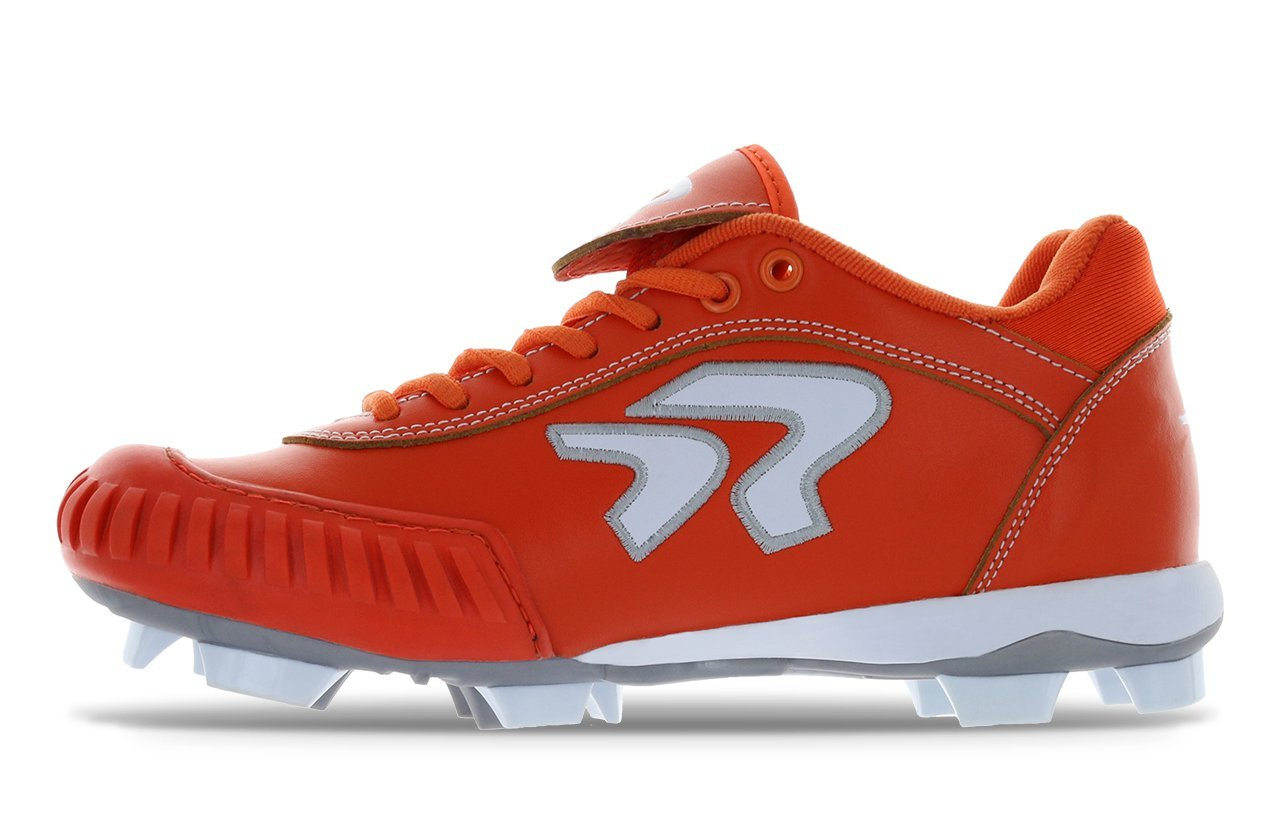 Dynasty 2.0 Cleat- Pitching B07B4MZ1W2 9.5 B(M) US|Orange/White