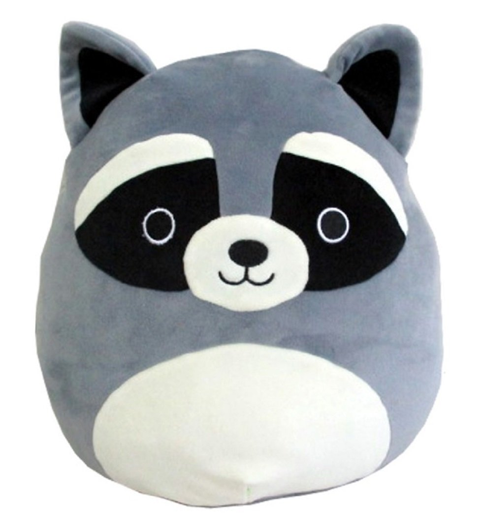 Squishmallow Kellytoy 8 Raccoon Super Soft Squishy Plush Toy Pillow Pet
