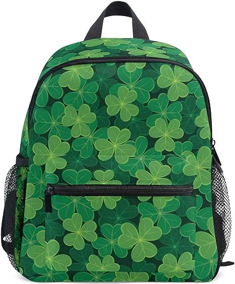 Sac à Dos Lucky Leaf Transparent Trèfle Vert Motif Sac à Dos