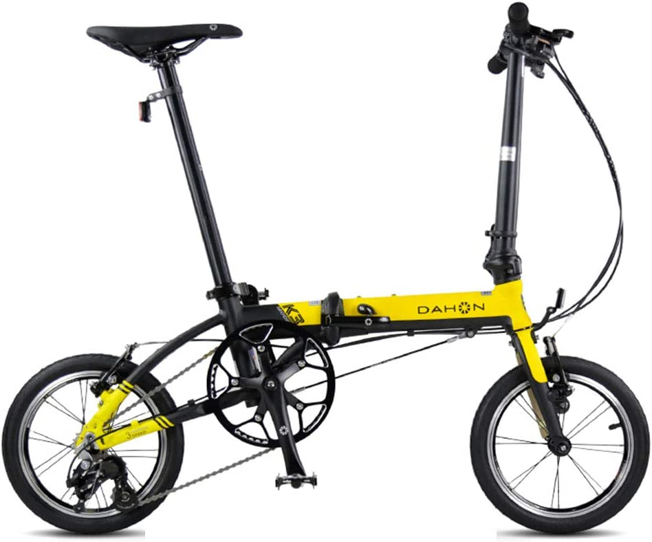 Mini Folding Bike 14-inch Portable Foldable Bicycle for Adult Children