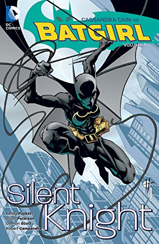 Image result for Batgirl: Silent Knight by Scott Peterson