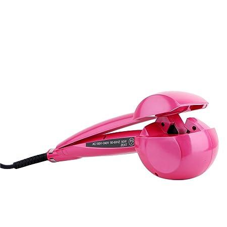 Amazon.com: Hair Curler LuckyFine US plug LCD Pro Salon Automatic Hair Curling Curler Ceramic Roller Wave Machine Styler Pink: Beauty