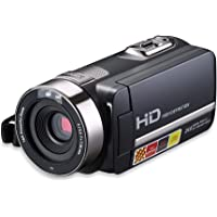 LESHP Camcorder Digital Camera 1080P Full HD Digital Video Camera Lightweight Slim with HDMI, 2.7 Inch TFT Screen, 24MP 16x Zoom, 270 Degree Rotation, Digital DVD Camcorders