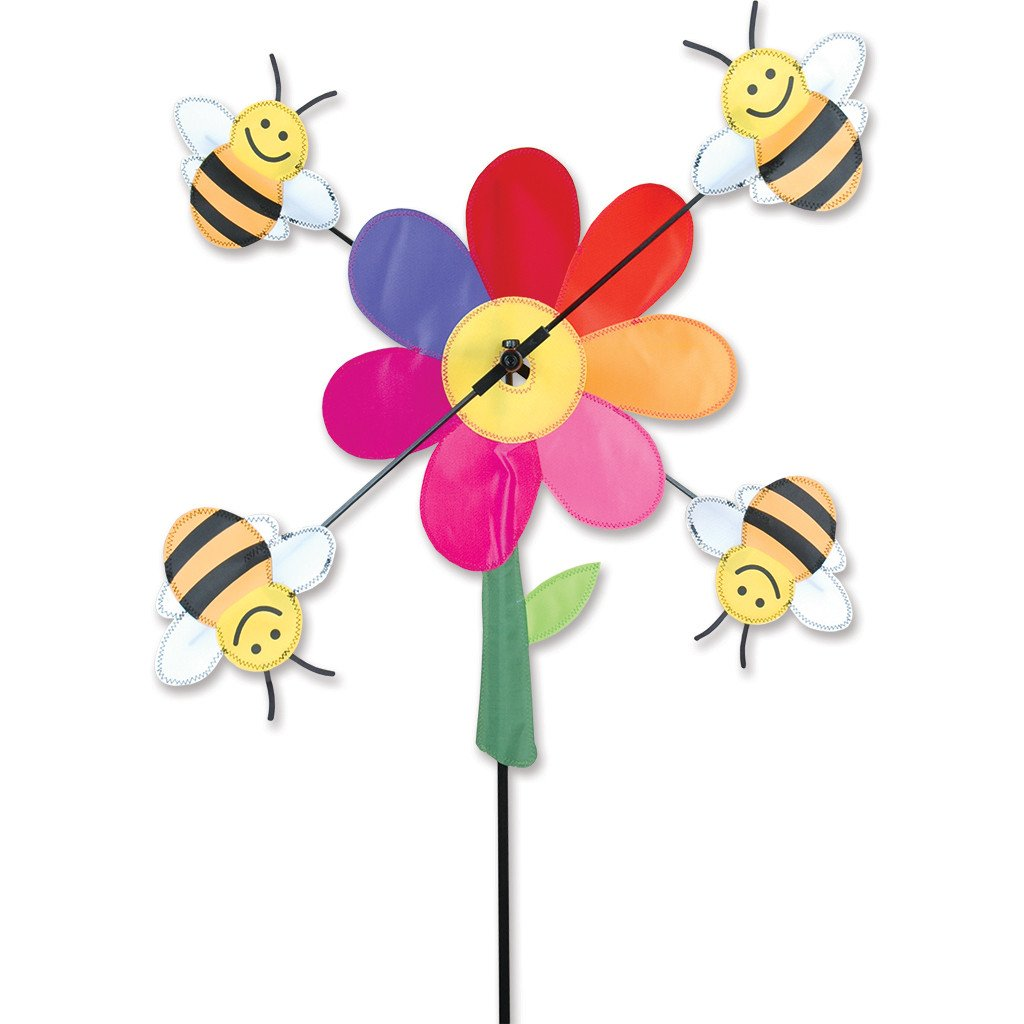 Premier Kites Whirligig Spinner - 20 in. Bumble Bees by Premier Kites