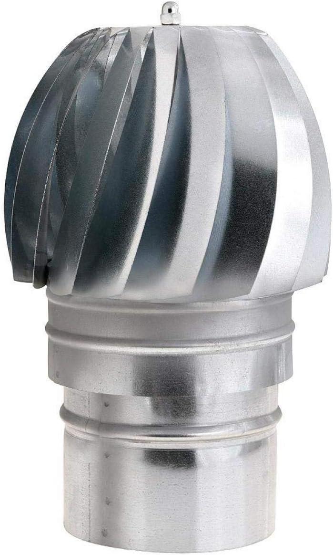 WOLFPACK 22011131 Sombrero Extractor Galvanizado Para Estufa 150mm