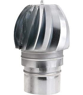 WOLFPACK 22011130 Sombrero Extractor Galvanizado Para Estufa 120mm ...