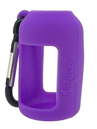 Amazon.com: Púrpura de silicona Soporte para botellas de 15 ...