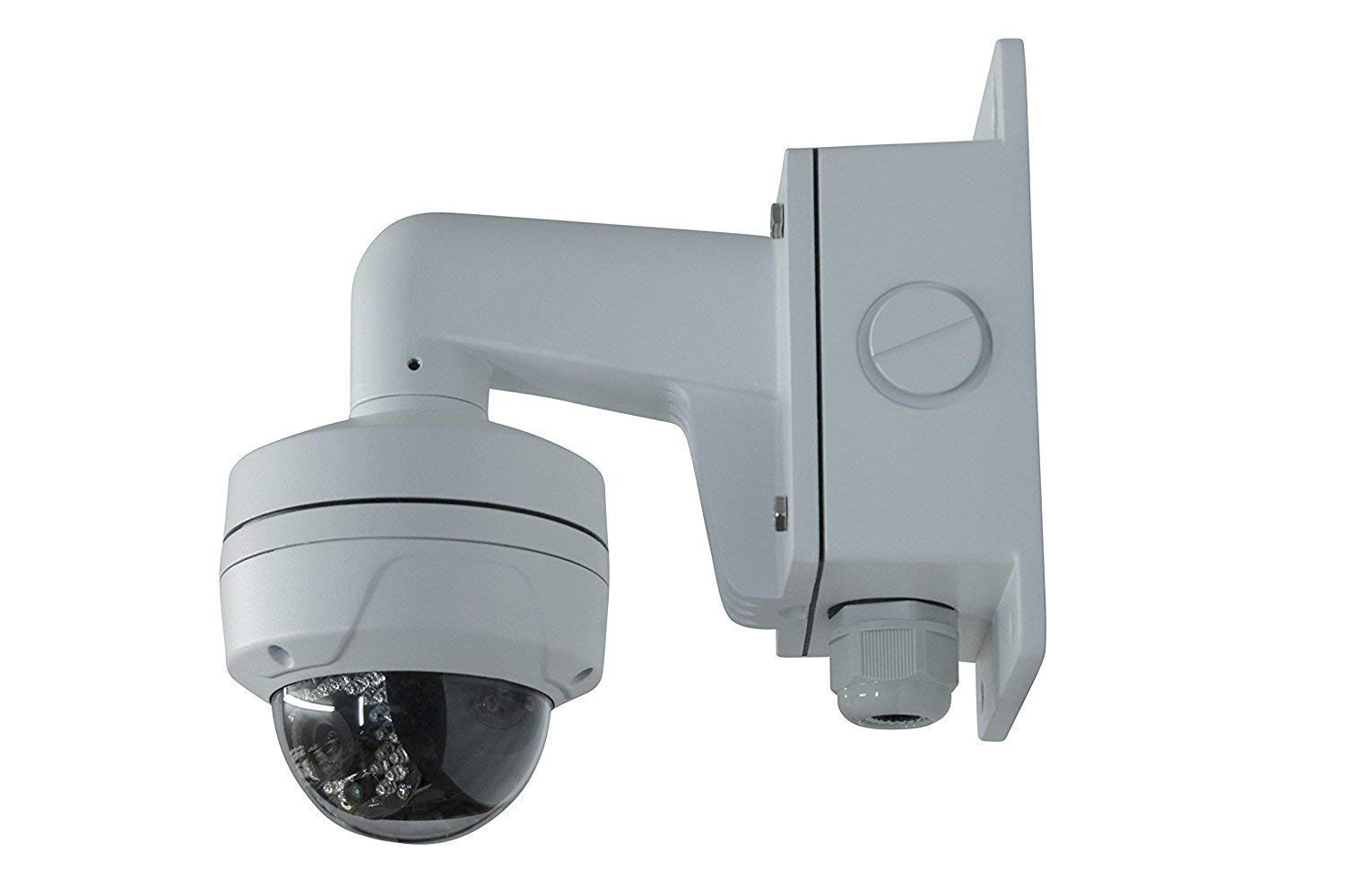 WMS WML PC110B DS-1272ZJ-110B Wall Mount Bracket for Hikvision Dome Camera DS-2CD2142FWD-I (8 Pack) by HAWK EYE SURVEILLANCE (Image #4)