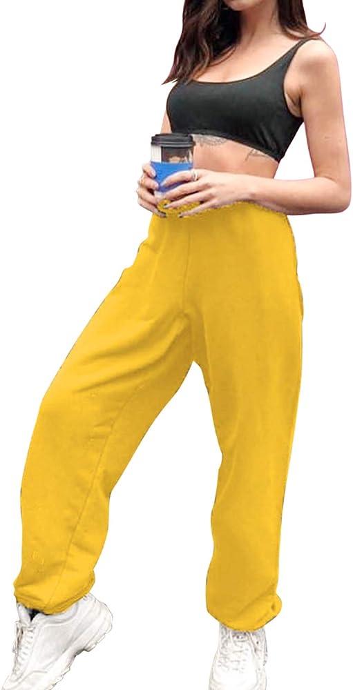 Pantalones de chándal con Forro Polar Suave y cálido, con ...