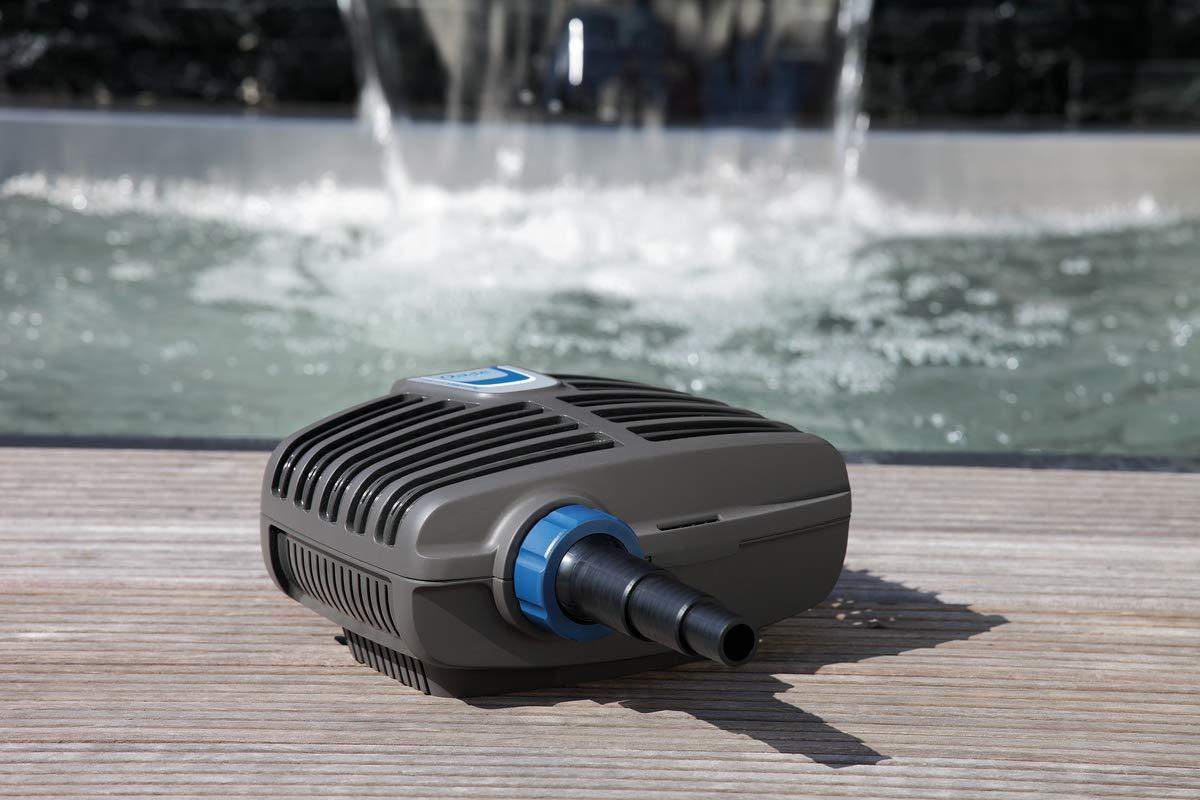 5500 und Bachlaufpumpe AquaMax Eco Classic Oase Filter
