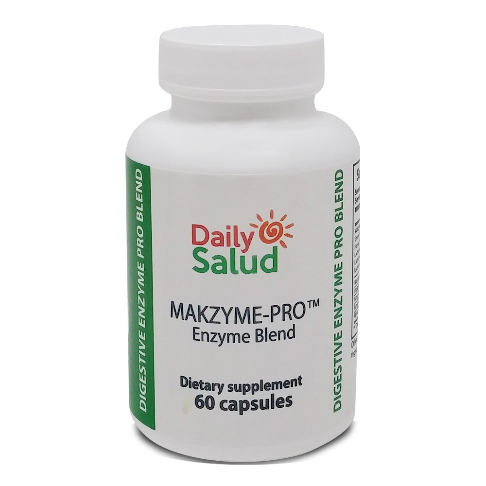 Daily Salud Super Enzyme Defense Natural Supplement, Gluten free with Probiotics Cleaner Regenerates Intestinal Flora,Support Digestive Health & Better absorption, Made in USA 100% Guarantee