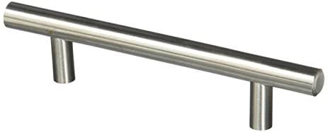 probrico t bar cabinet pulls stainless steel kitchen handles 6 inch total length 30 packs