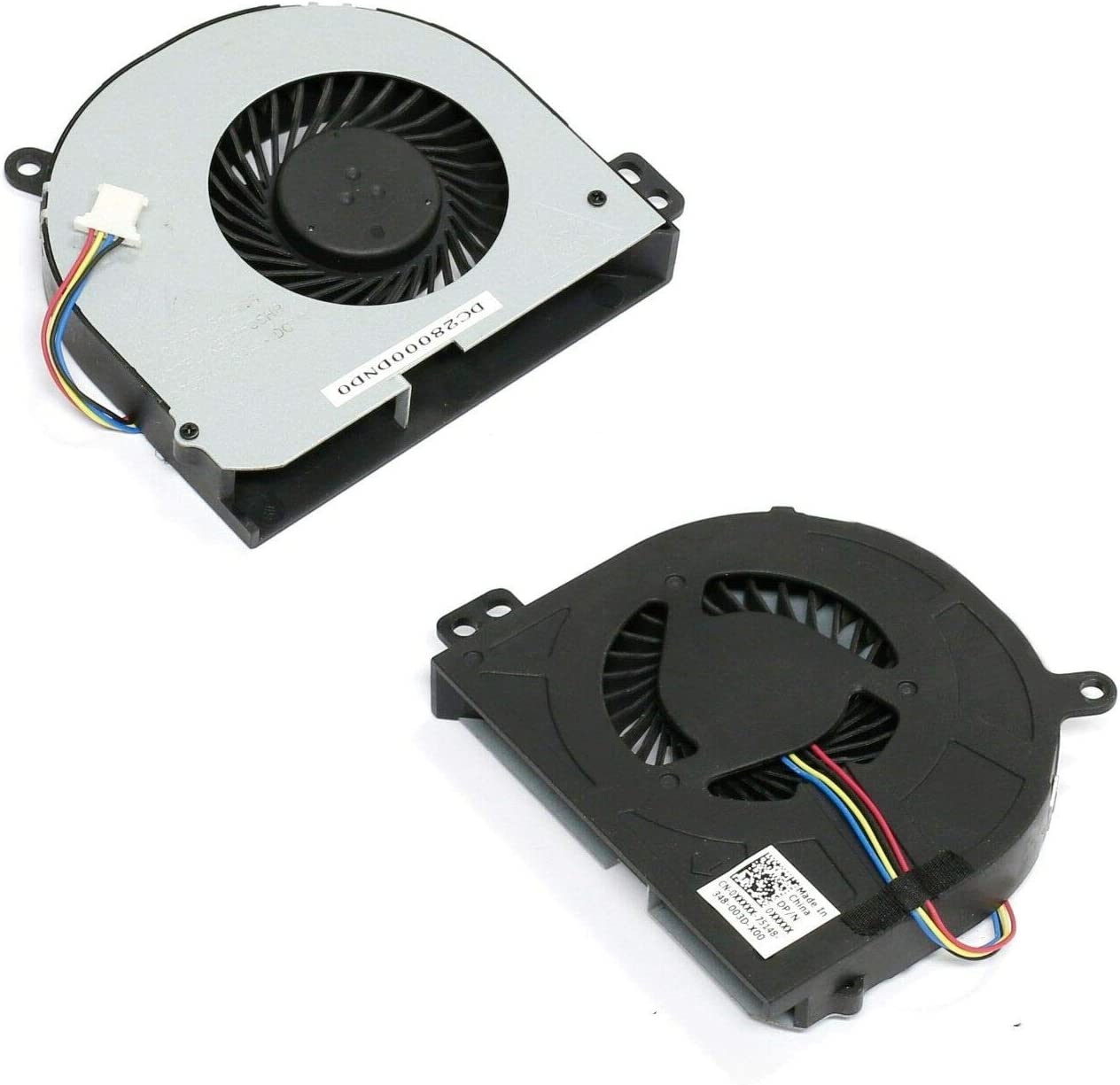 CAQL New Cooling Fan for Dell Latitude E5440 E5540, P/N: 087XFX 87XFX MF60090V1-C620-S9A DC28000DNS0 DC28000DNSL KSB0505HB-DC10, (4-Wires) 4-pins Connector